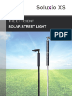 Soluxio XS - the economical solar street light