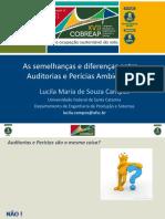 As Semelhanças e Diferenças Entre Auditorias e Perícias Ambientais Lucila Maria