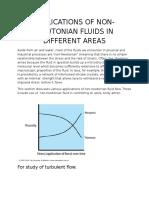 FM Non Newtonian Fluid Report