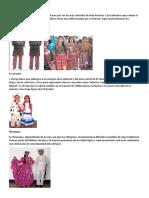 Trajes Tipicos de Centroamerica