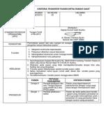 SPO Kriteria Transfer Intra Dan Antar Rumah Sakit (Derajat)