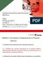 Clase N°3 Gestión Economica del Proyecto Electrico