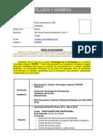 2. Formato de CV - Modelo Alumnos.docx