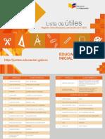 Lista de Utiles Sierra 2017