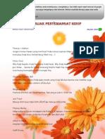 E-book Kumpulan penyemangat Buat Hidup Tambah Hidup