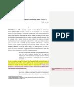 3 - Willie Van Peer - FORMAÇÃO DO CÂNONE - IDEOLOGIA OU QUALIDADE ESTÉTICA.docx
