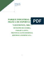 Plan de Negocios Ingenio y Destileria Ferrank Bioenergy
