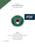 proposal lomba Desain Poster