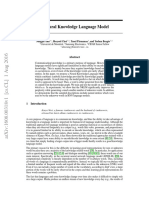 A Neural Knowledge Language Model