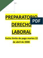 Preparatorio Derecho Laboral Resumen Individual