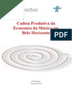Cadeia produtiva da música em Belo Horizonte