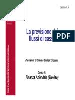 05-Il Budget Di Cassa