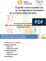 10J-GvSIG Universidad Jaen