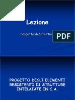 Lezione 27 Strutture (Norma Sismica - Progetto Elementi Strutture Cls Intelaiate)
