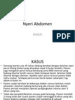 Murdani-KASUS-NYERI-ABDOMEN.ppt
