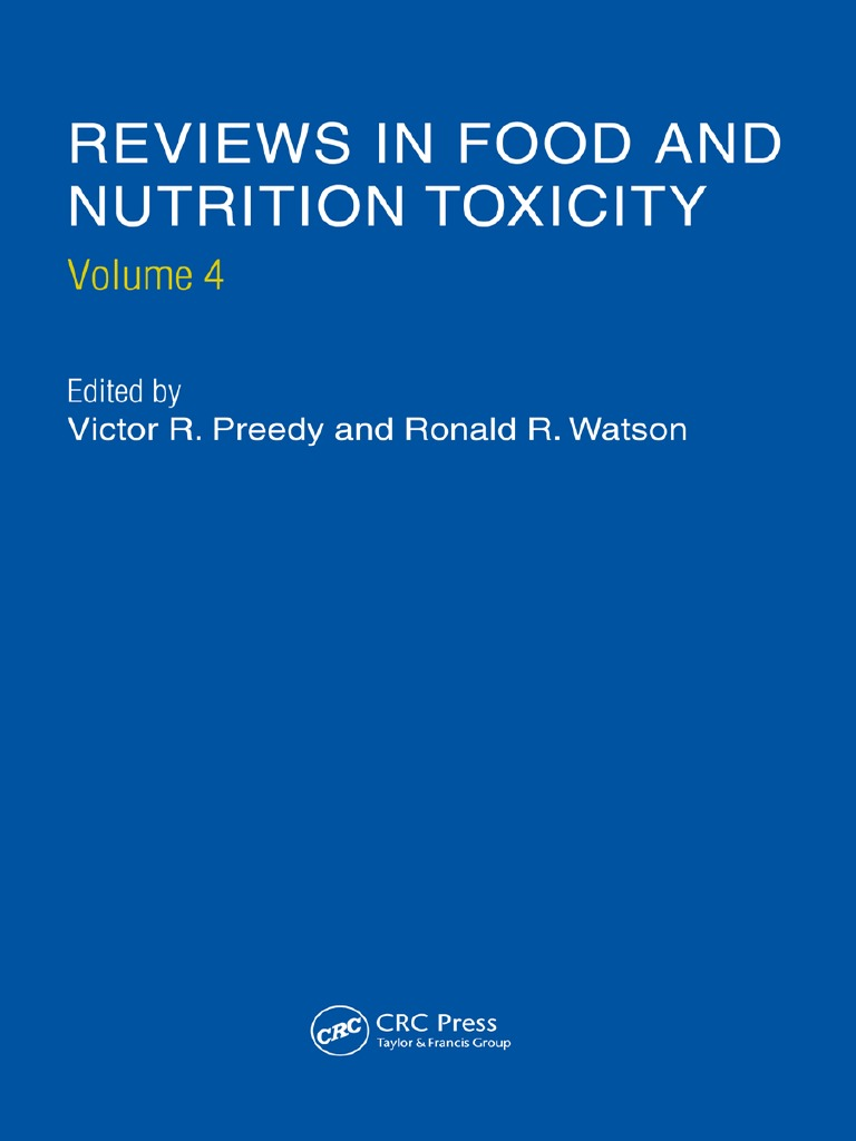 454bd26e5 Reviews in Food and Nutrition Toxicity