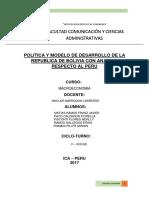 Politica Bolivia