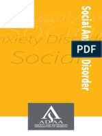 SocialAnxietyDisorder Brochure