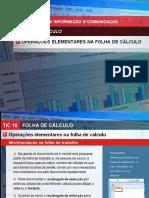 2 - Operacoes Elementares Numa Folha de Calculo