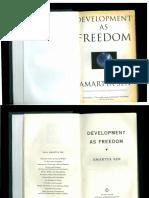 01- SEN Amartya (2000) Development as Freedom