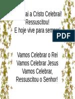 Celebrai a Cristo Celebrai.odp