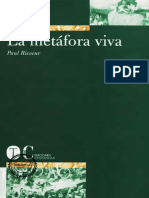 Ricoeur Paul - La Metafora Viva