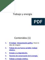 Trabajo Fuerza Variable y Energia 1
