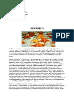 Basing Coral Starfish