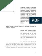 Denuncia Contra Fiscales Que Archivaron Denuncia Contra Perito