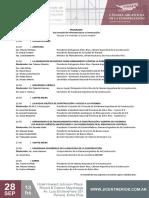 Programa  3er Jornada de Infraestructura y Construcción en Paraná