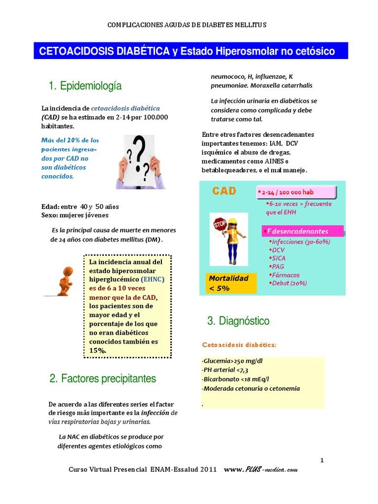 Plantilla de powerpoint - complicaciones agudas de la diabetes