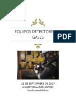 Equipos Detectores de Gases
