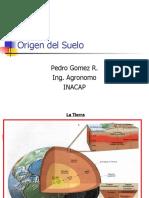 Origen Del Suelo 2010