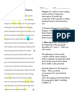 omam 1st para close reading  board notes