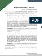 El Sistema Nacional de Coordinación Fiscal en México