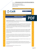 CAIR MN's statement on Trump's latest travel ban
