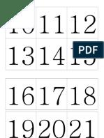 números del 1 al 31.doc