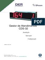 Manual de Senhas CDS-32