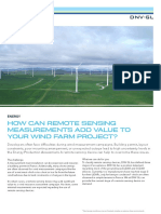 How Can Remote Sensing Measurements Add Value to Your Wind Farm Project