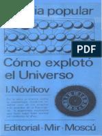 Como exploto el universo_Novikov.pdf