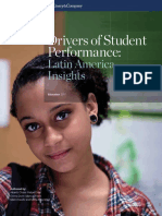 Mckinsey LA _ Drivers of Student Performance