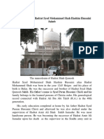 Hadrat Syed Mohammed Shah Hashim Hussaini