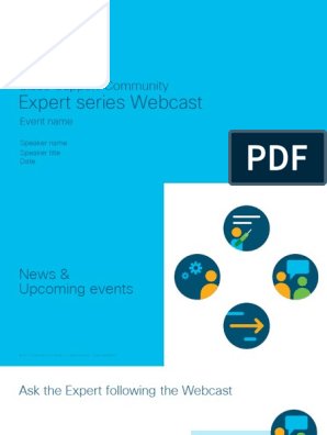 Webcast-Deploy and Operate Cisco NGFW-FTD | Cisco Systems | Ip Address