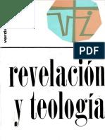 Schillebeeckx, E., Revelación y teología