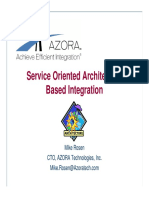 Service Oriented Architecture Based Integration