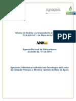 Planilla Informe Gestion Operacion