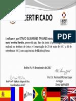 Certificado Otavio