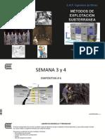 Diapositiva # 6 Métodos Subterráneos 2017 I S 3-4