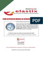 3. Como Reproducir Mensaje de Bienvenida en Elastix 2013