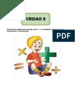 Unidad No 2 Didactica de Las Matemáticas 2017